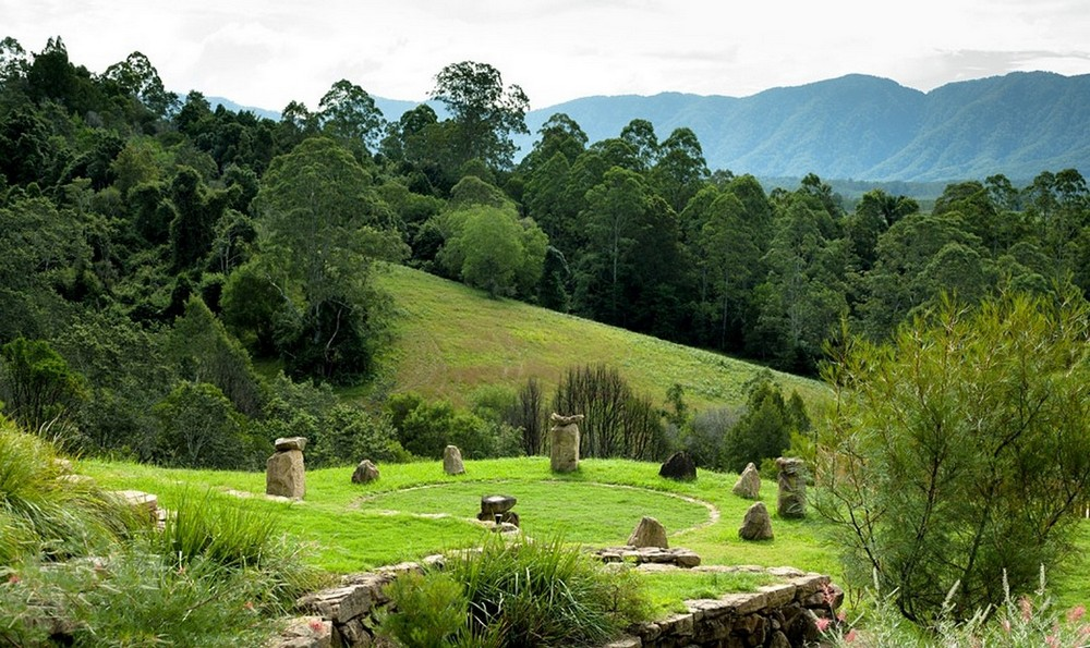 Standing Stones -North Farm Retreat Space Bellingen. Wheelchair-friendly, accessible accommodation in the Bellingen Valley. Retreats and Farmstay for up to 20 people.