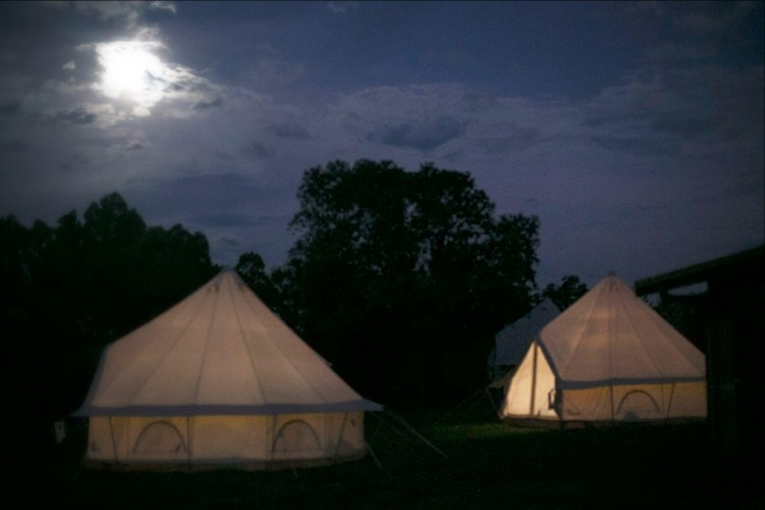 Bell Tents - North Farm Retreat Space